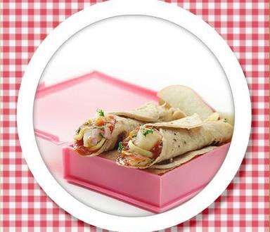 Recipe of Tawa Aloo Chaat Roll
