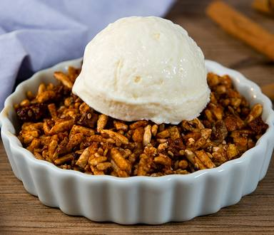 Apple Crumble de Granola