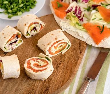 Wraps et accompagnements sans gluten