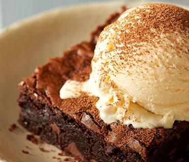 Decadent Brownies a la Mode