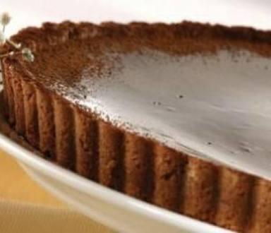 Tarta de chocolate y canela