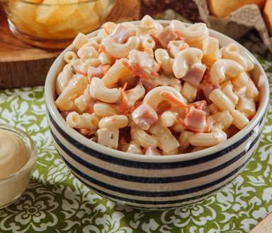 Sweet Chicken Macaroni Salad