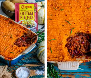 ROOT VEGGIES COTTAGE PIE - VEGAN