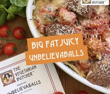 Unbelievaballs Meatballs