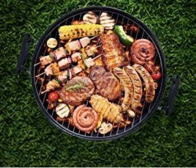 Gratar cu carne marinata