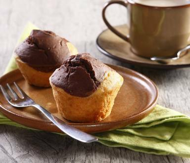 Muffins bicolores