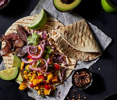 Biltong Tacos