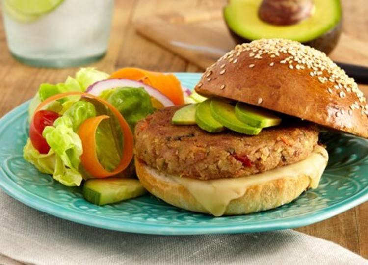 Hamburguesa vegetariana superior
