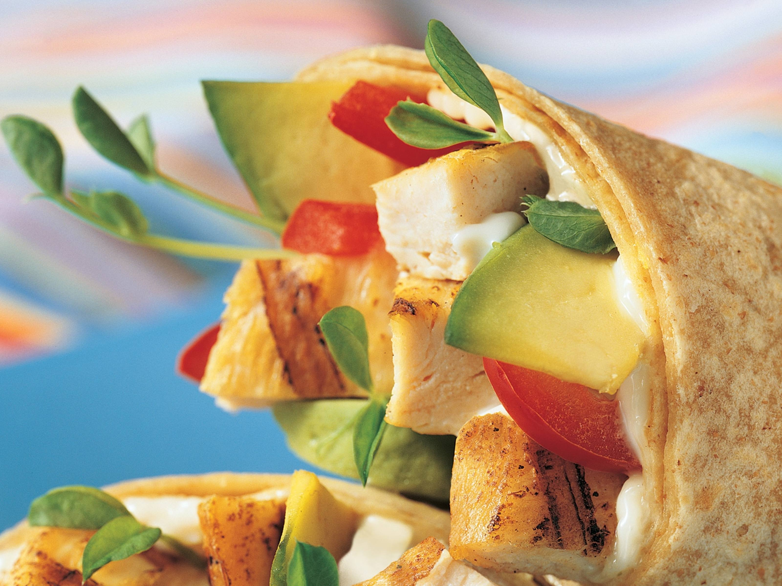 California Chicken Wrap Recipe