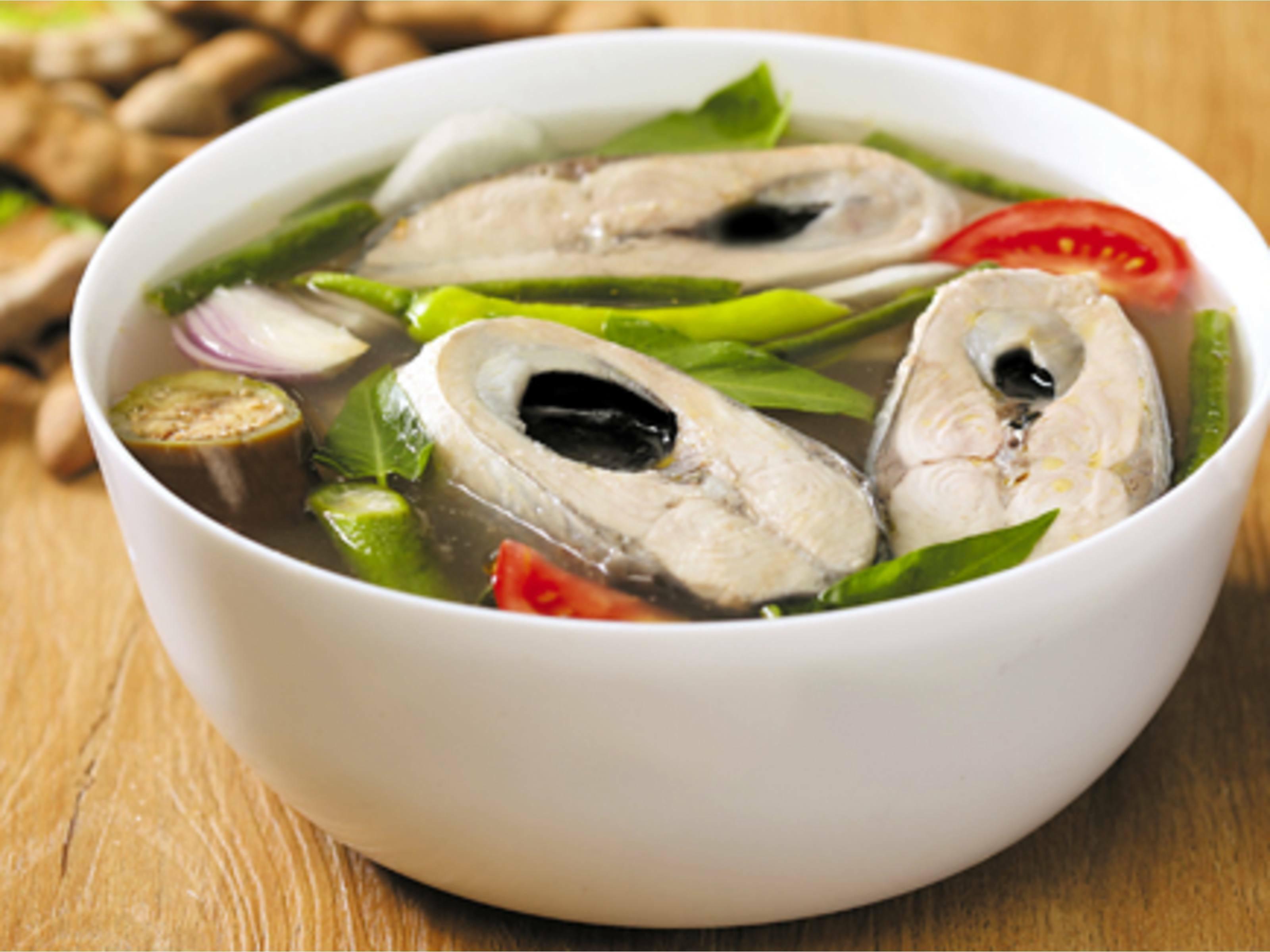 Milkfish stew