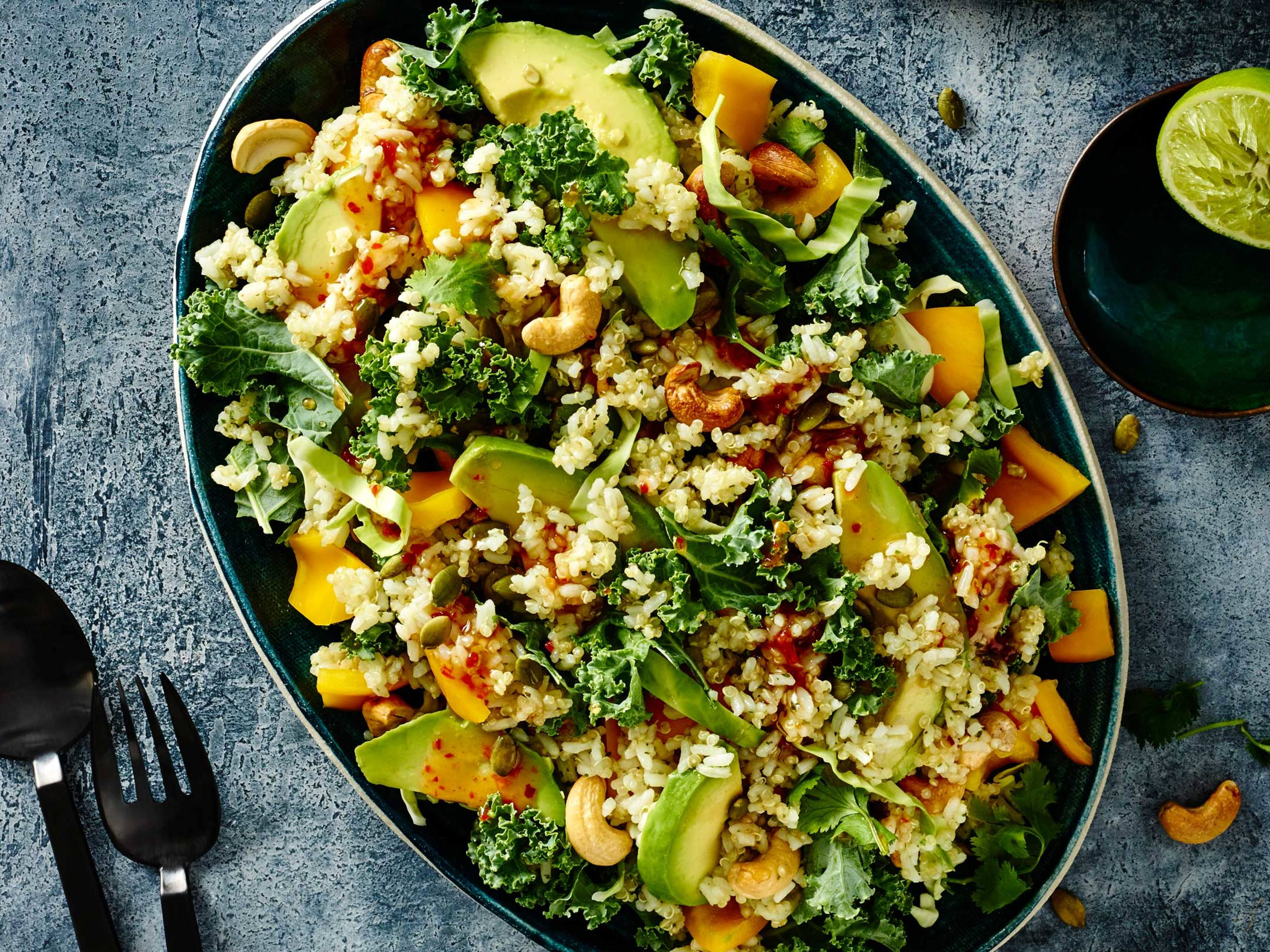 Recipes and easy mid week meal ideas continental coconut rice quinoa salad forumfinder Image collections