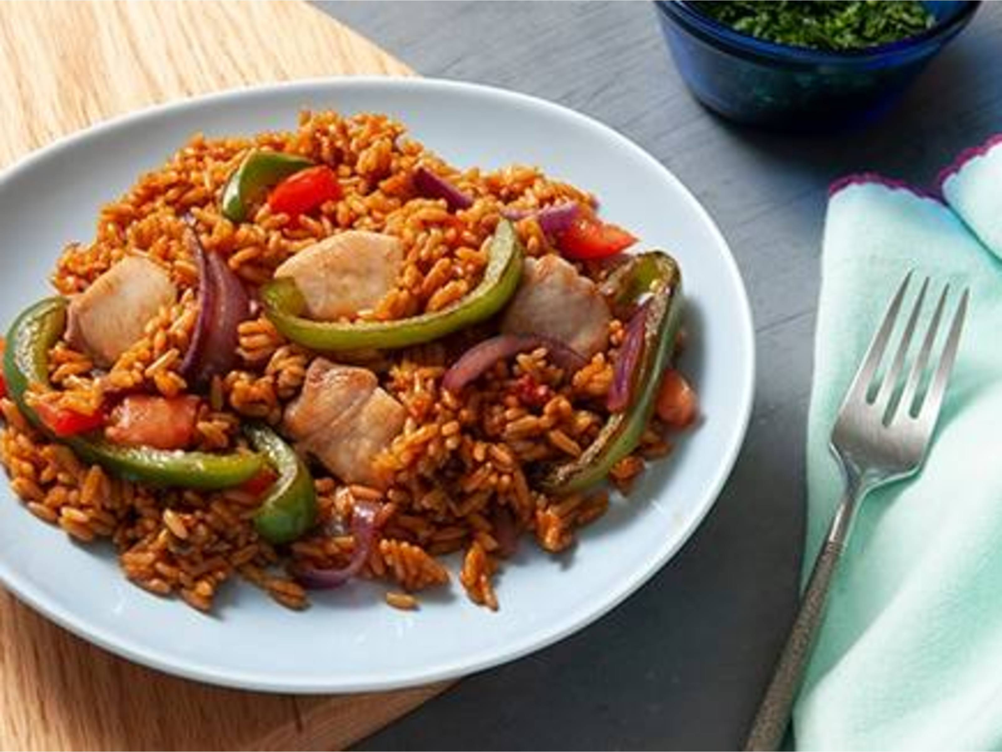 Easy Weeknight Chicken Paella