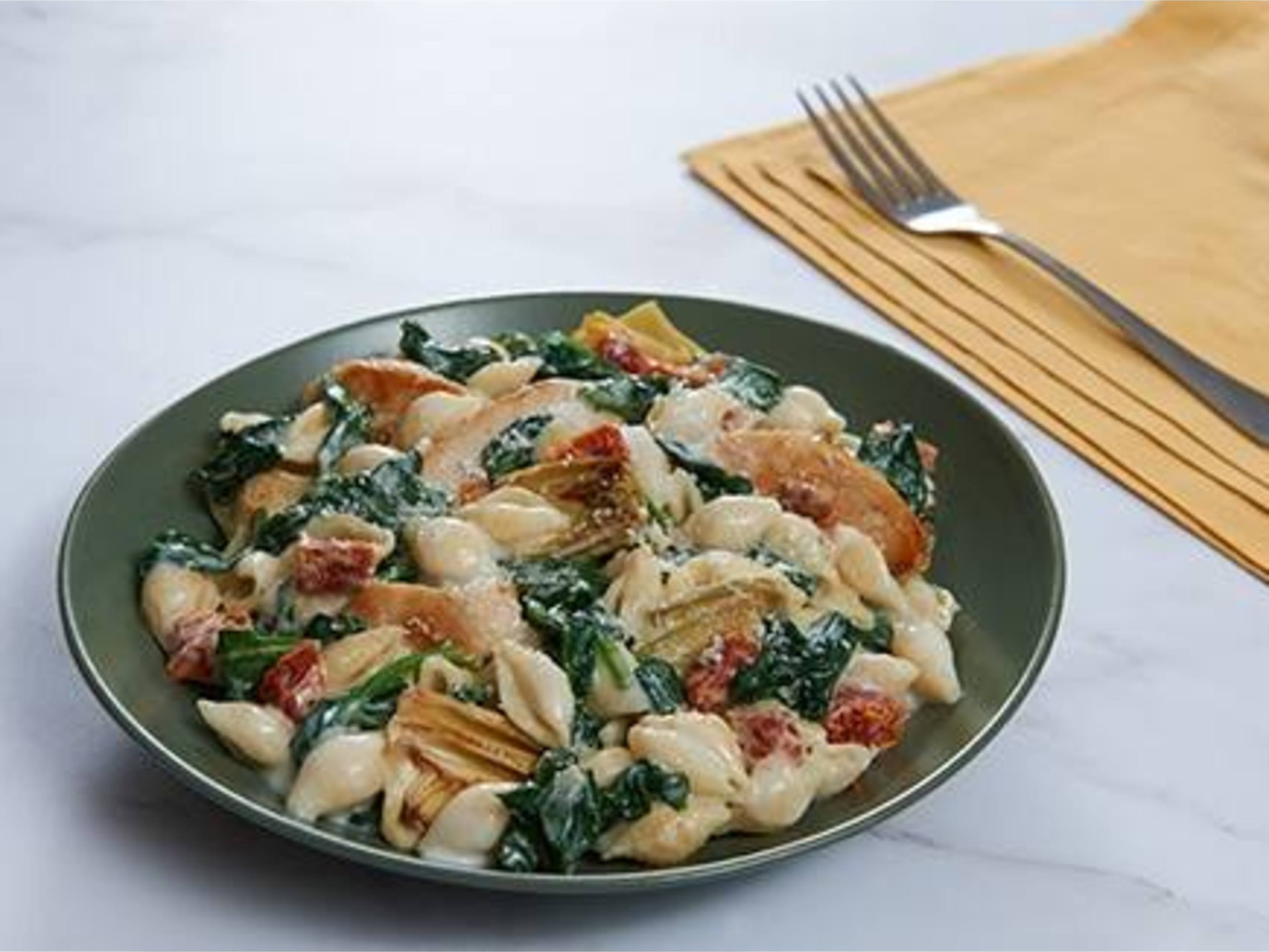 Spinach Artichoke Chicken & Pasta