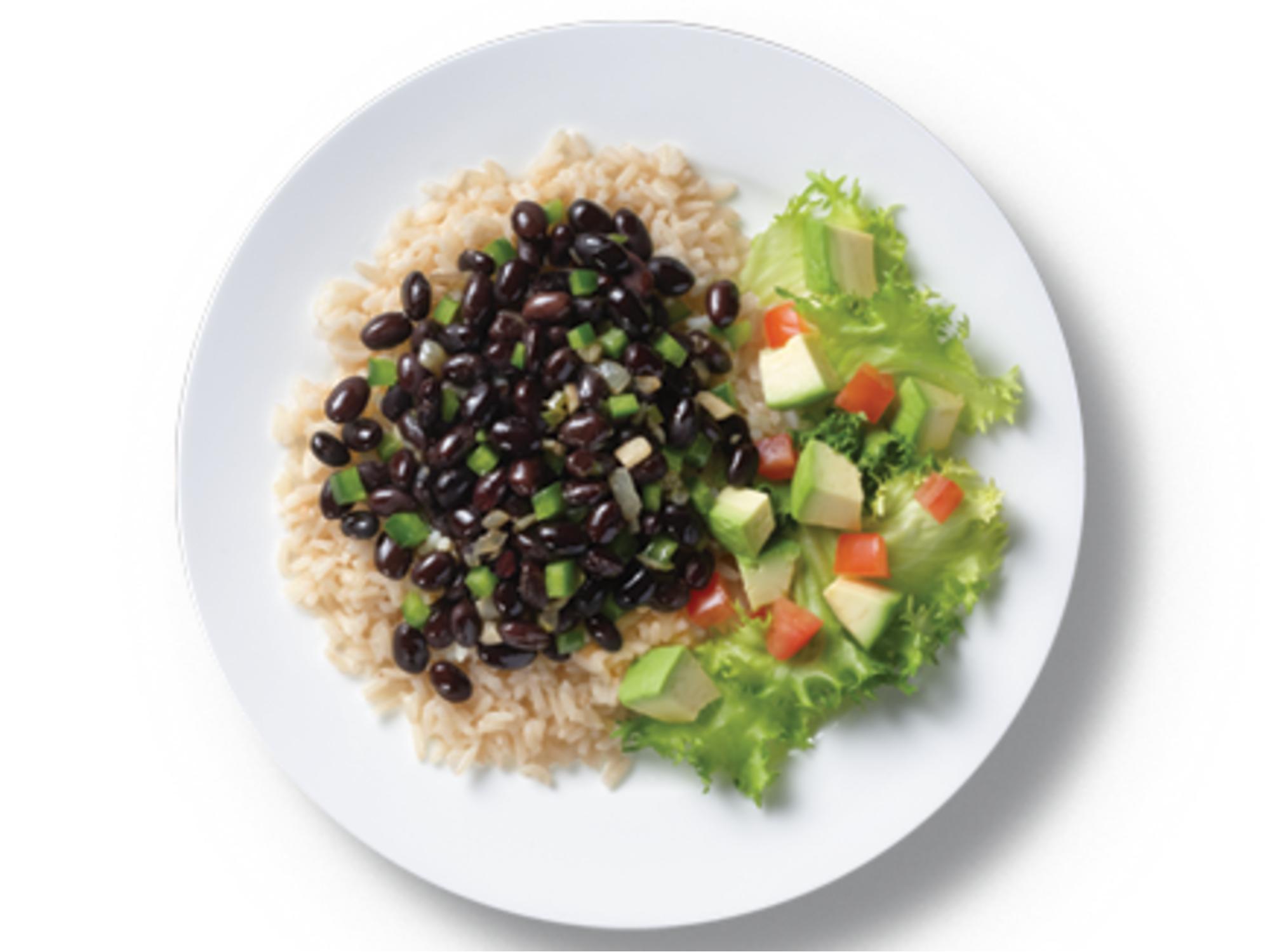Cuban Rice & Black Beans