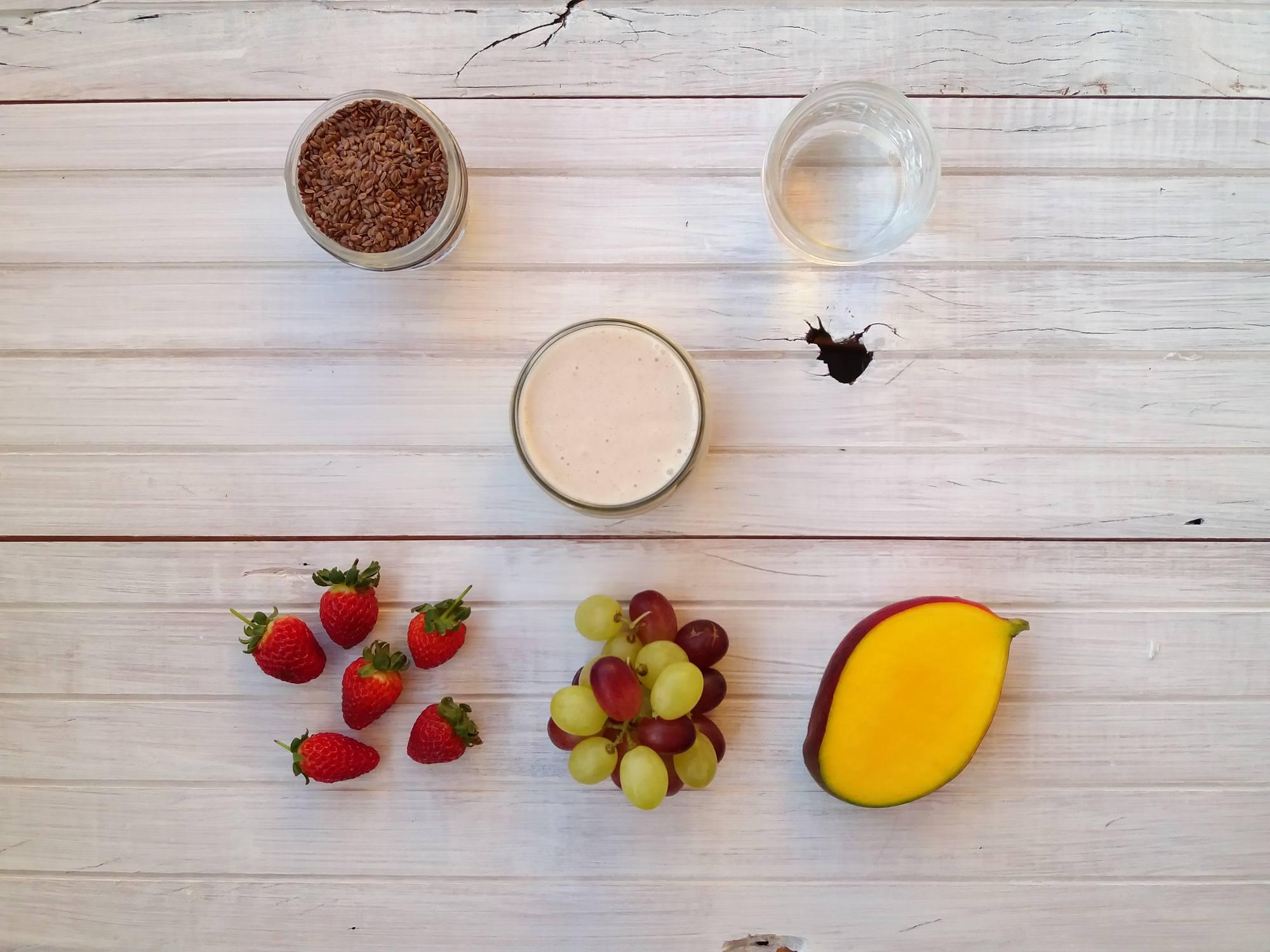 Iogurte de Linhaça