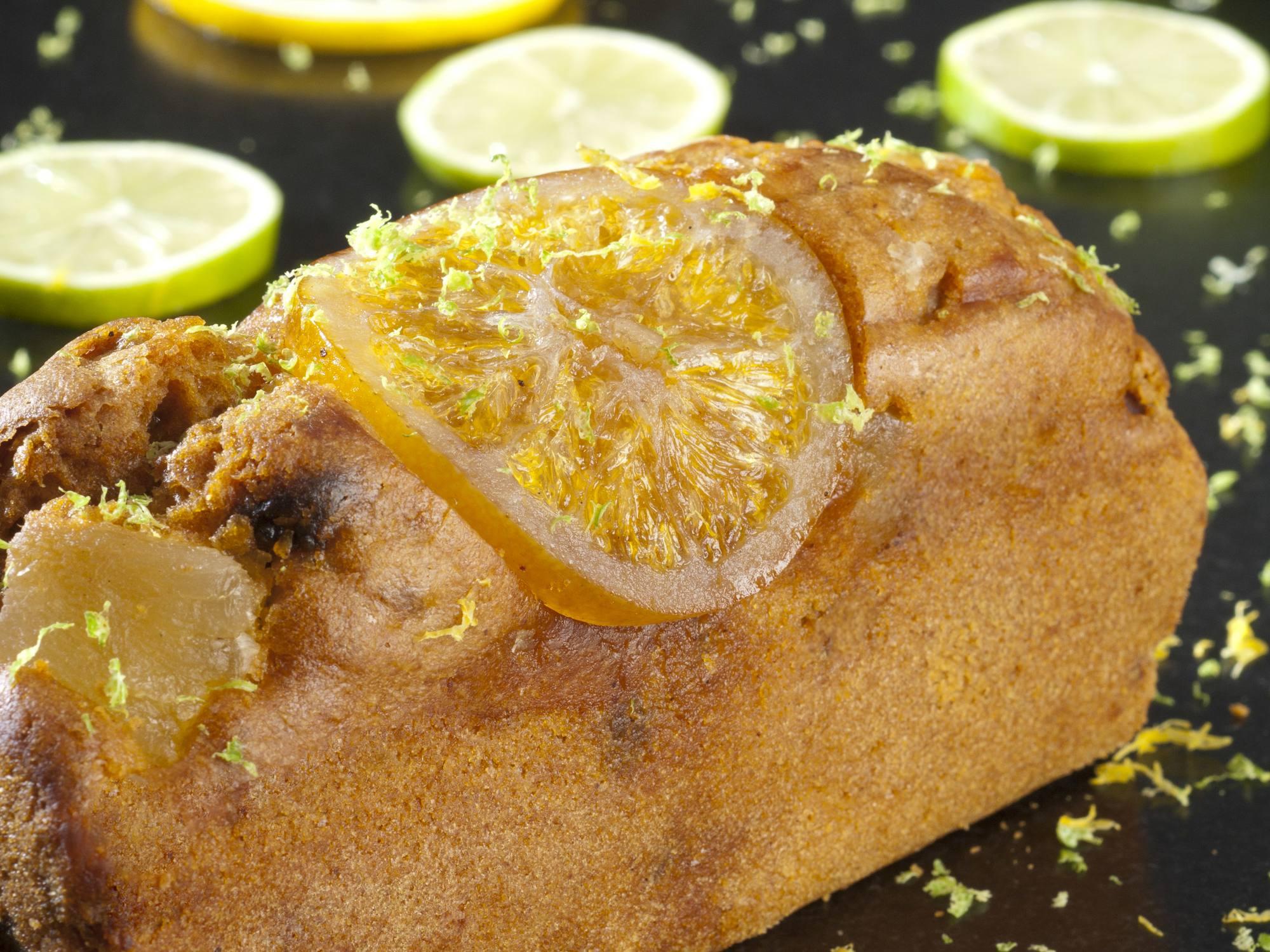 Recette de cake au citron avec Maïzena