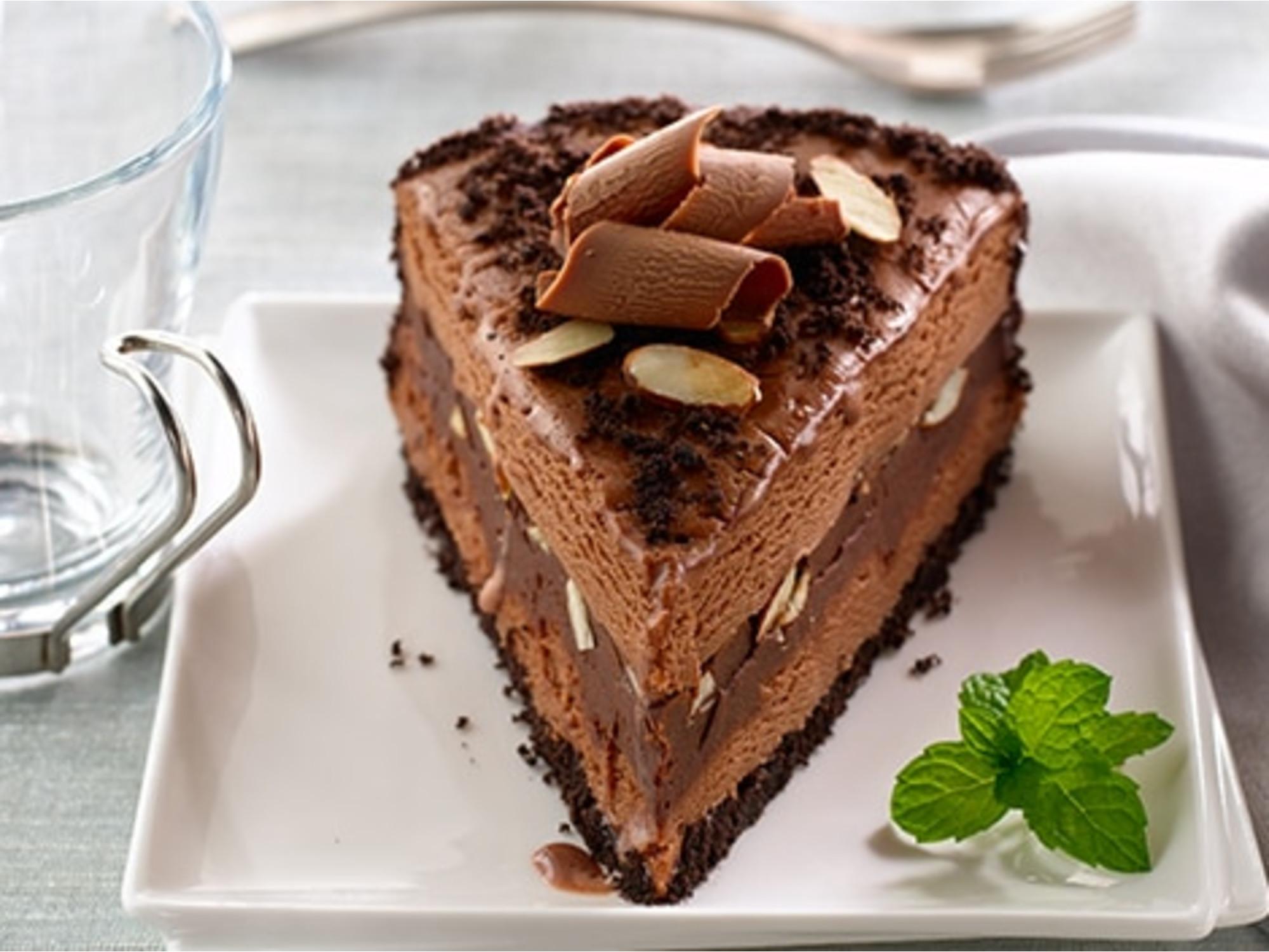 Mocha Almond Fudge Ice Cream Torte
