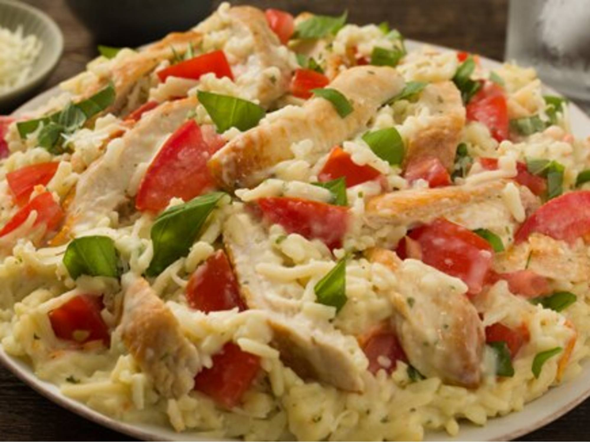 Creamy Bruschetta Chicken