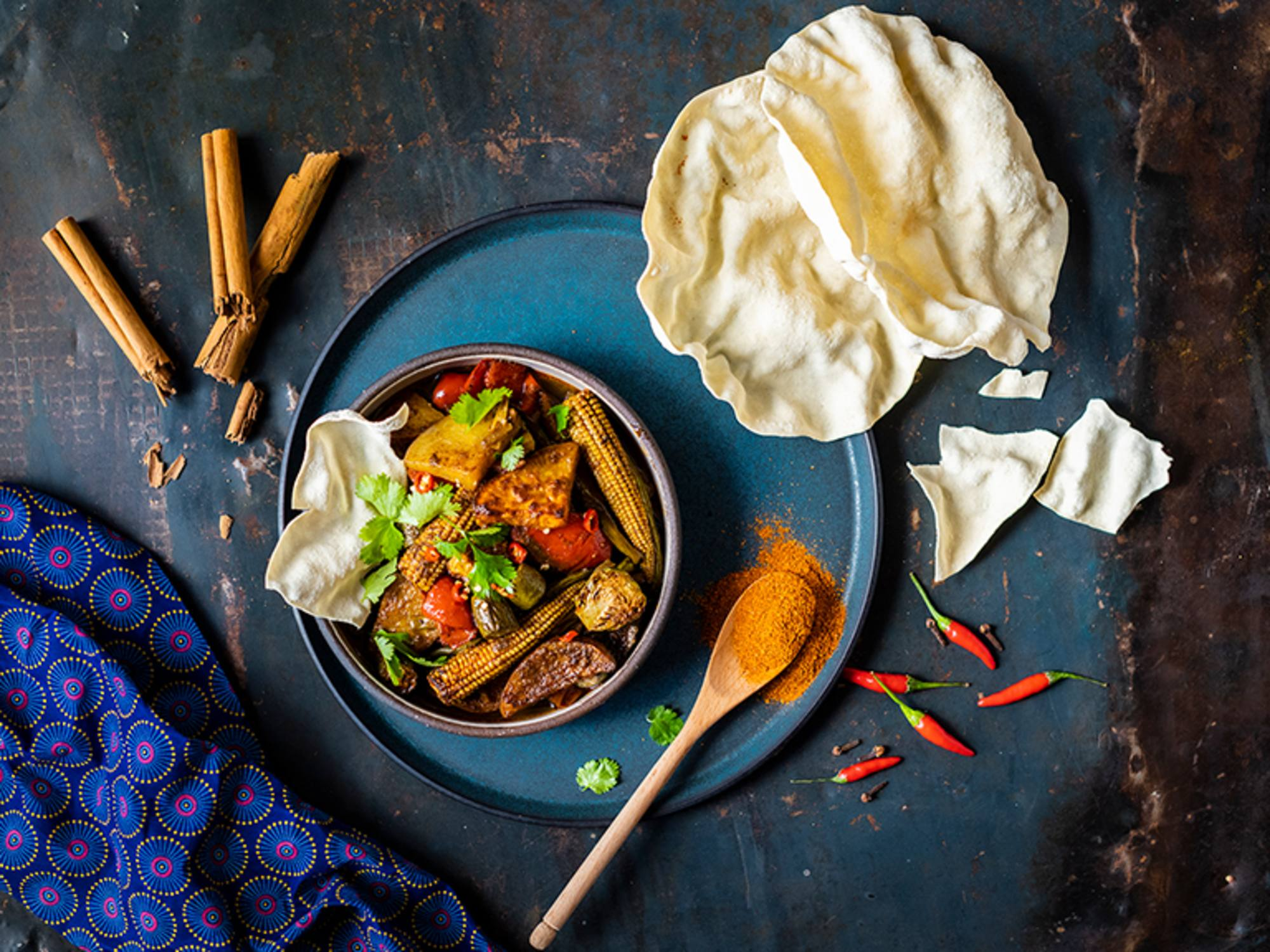 Veggie Vindaloo Curry