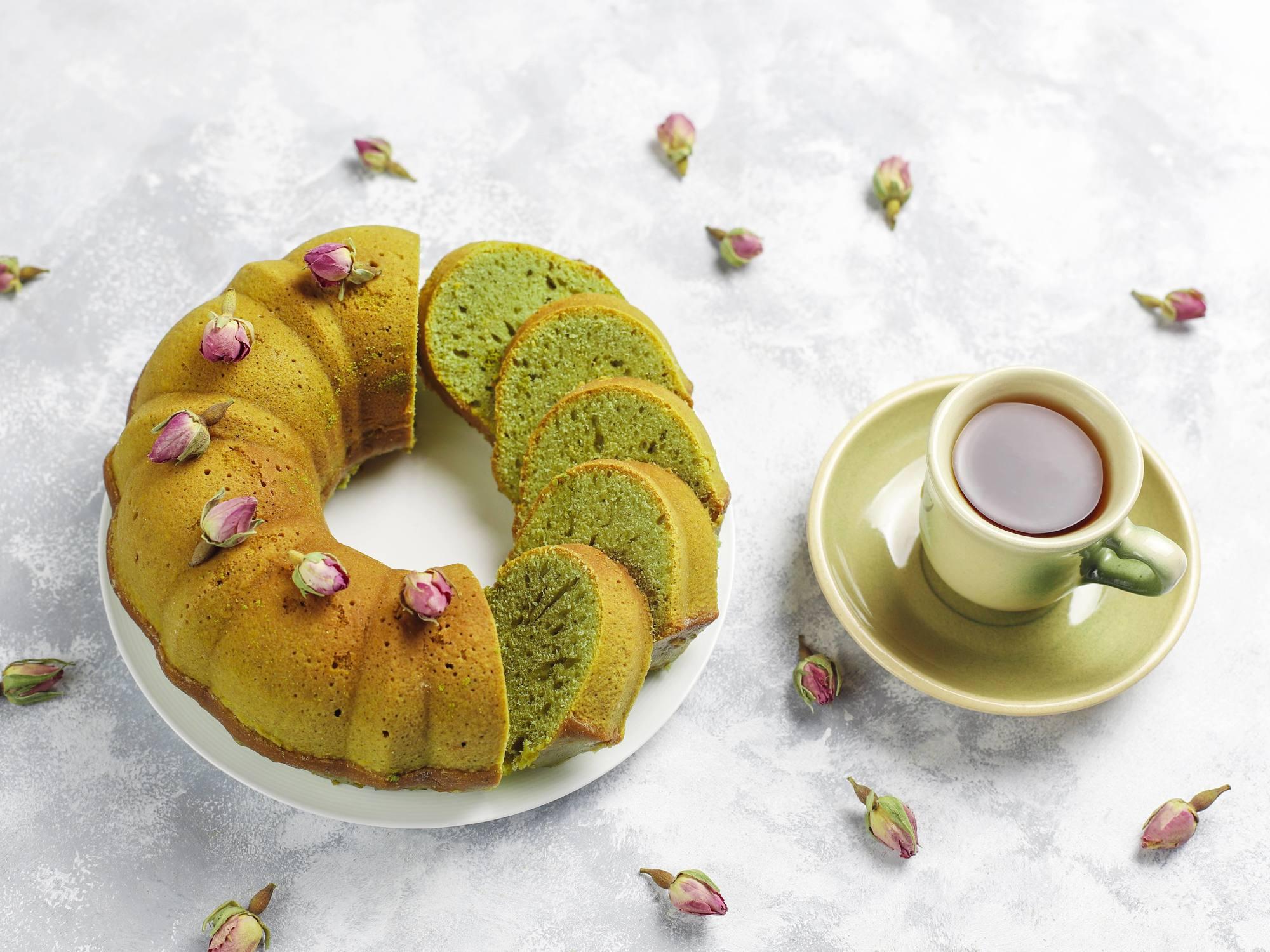 Horlicks Pandan Cake