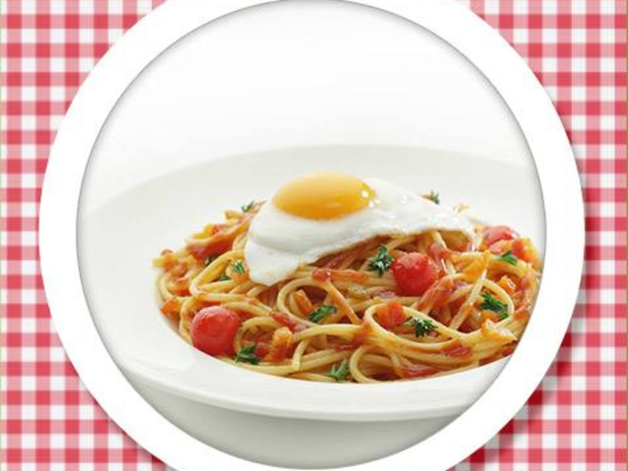 Recipe of Spaghetti with Fried Egg