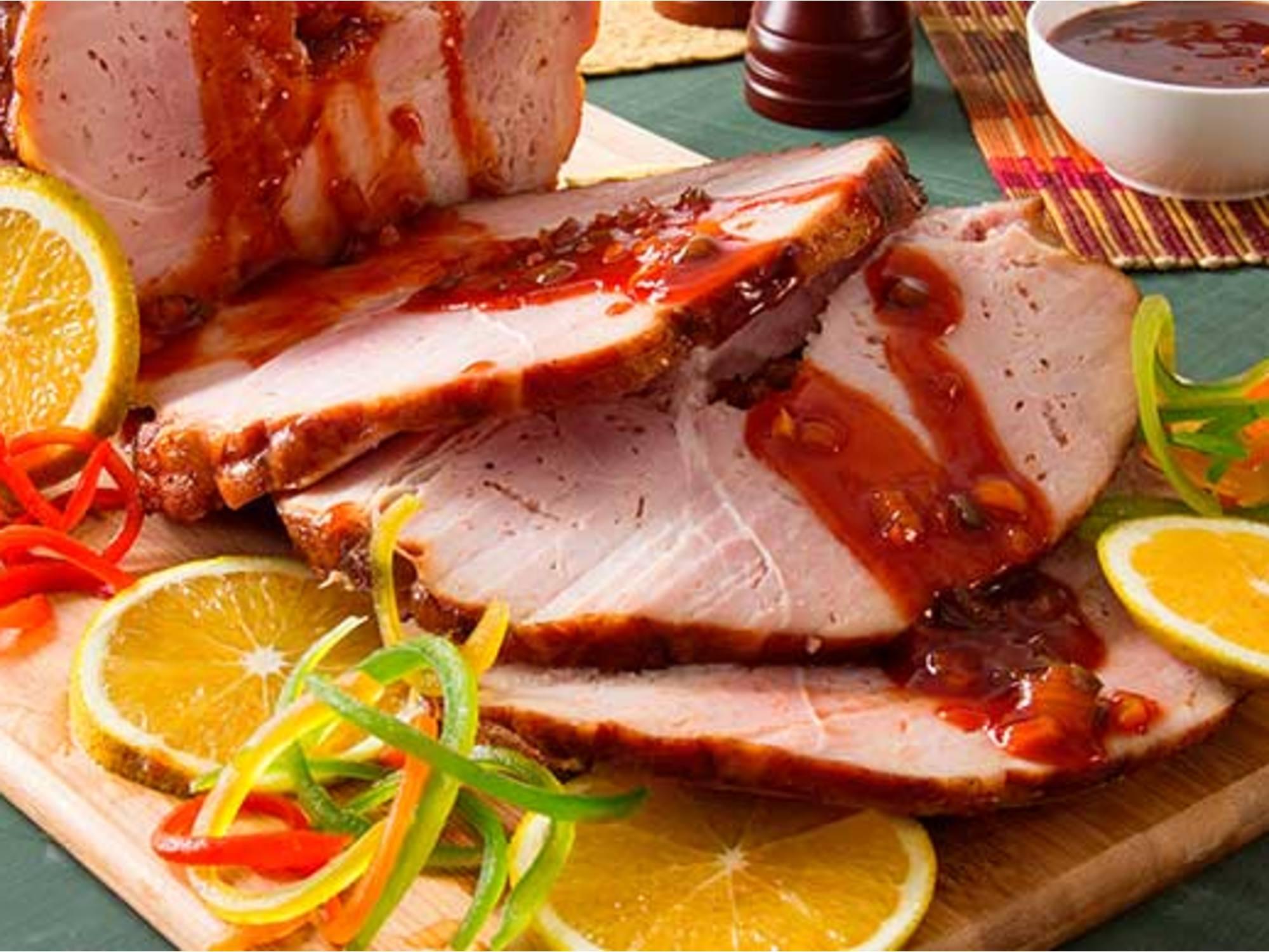 Pernil de cerdo con Salsa de Tomate Fruco