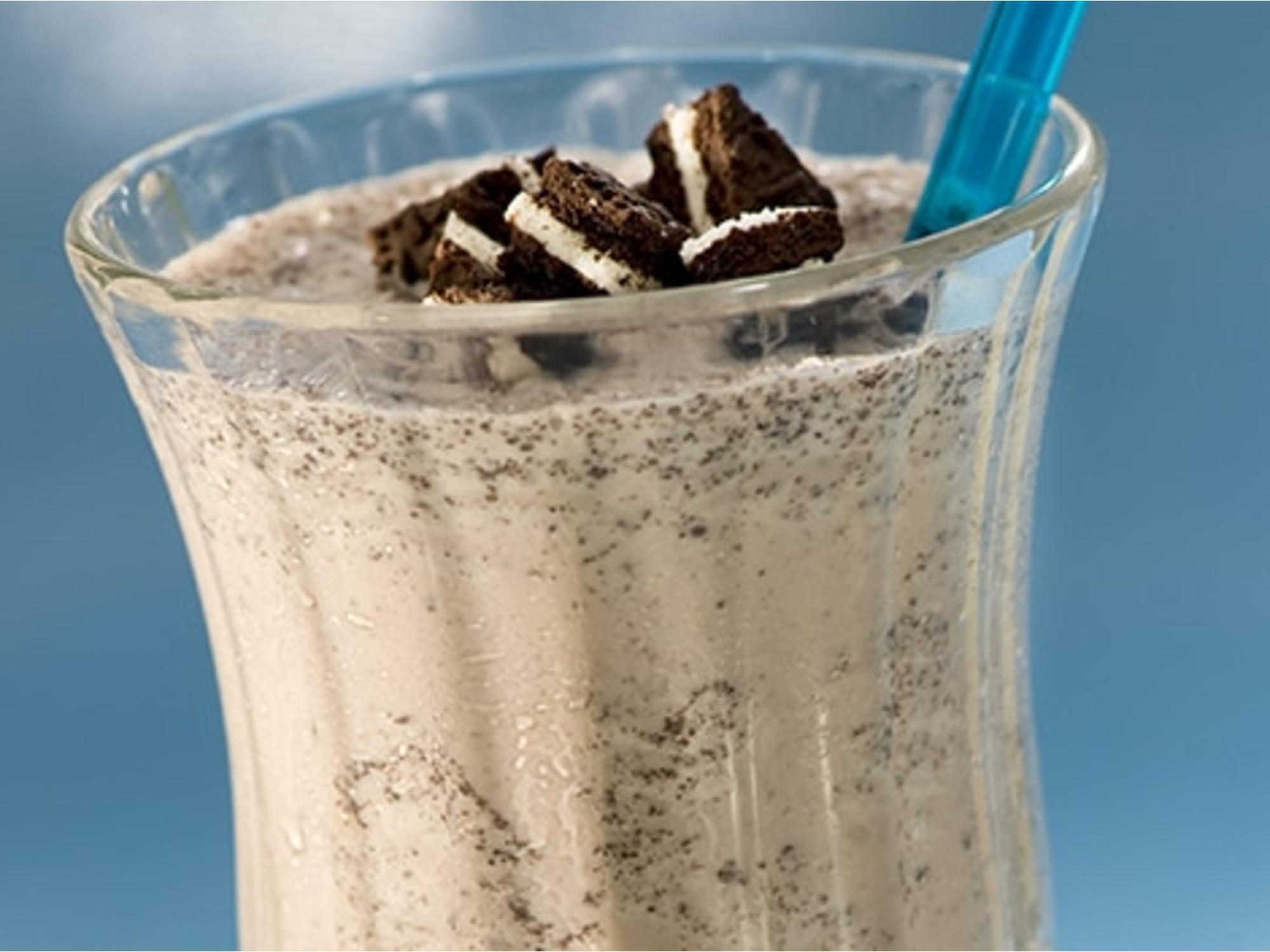 Cookies & Cream Banana Shakes