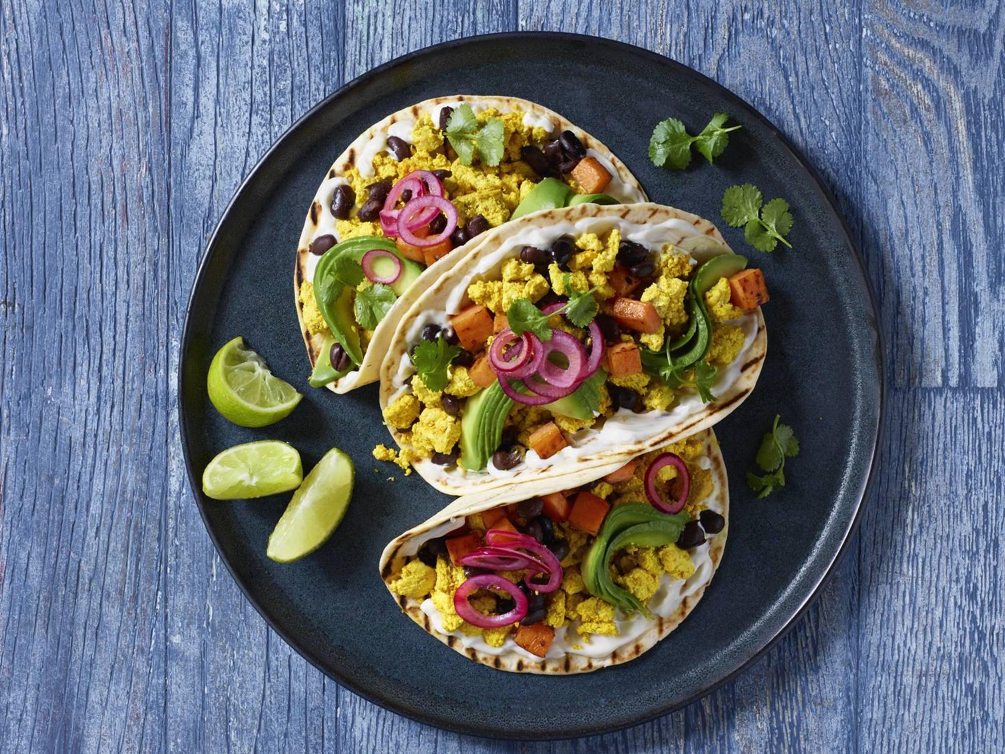 Vegaaninen meksikolainen tofutaco | Hellmann's