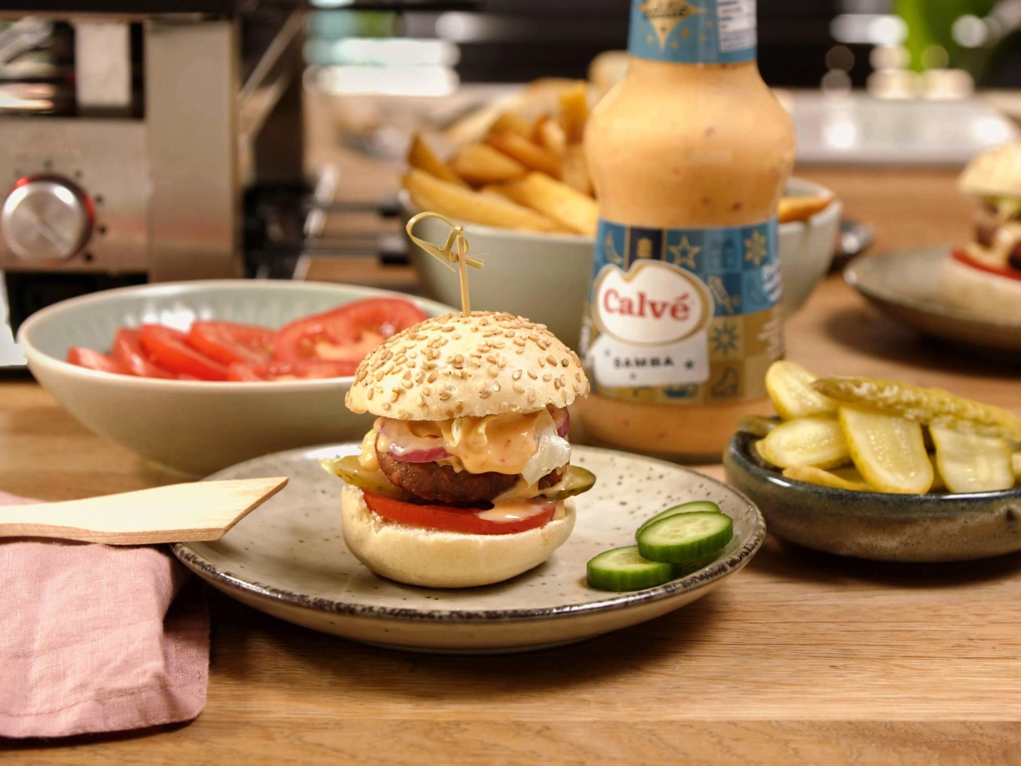 Mini beefburger
