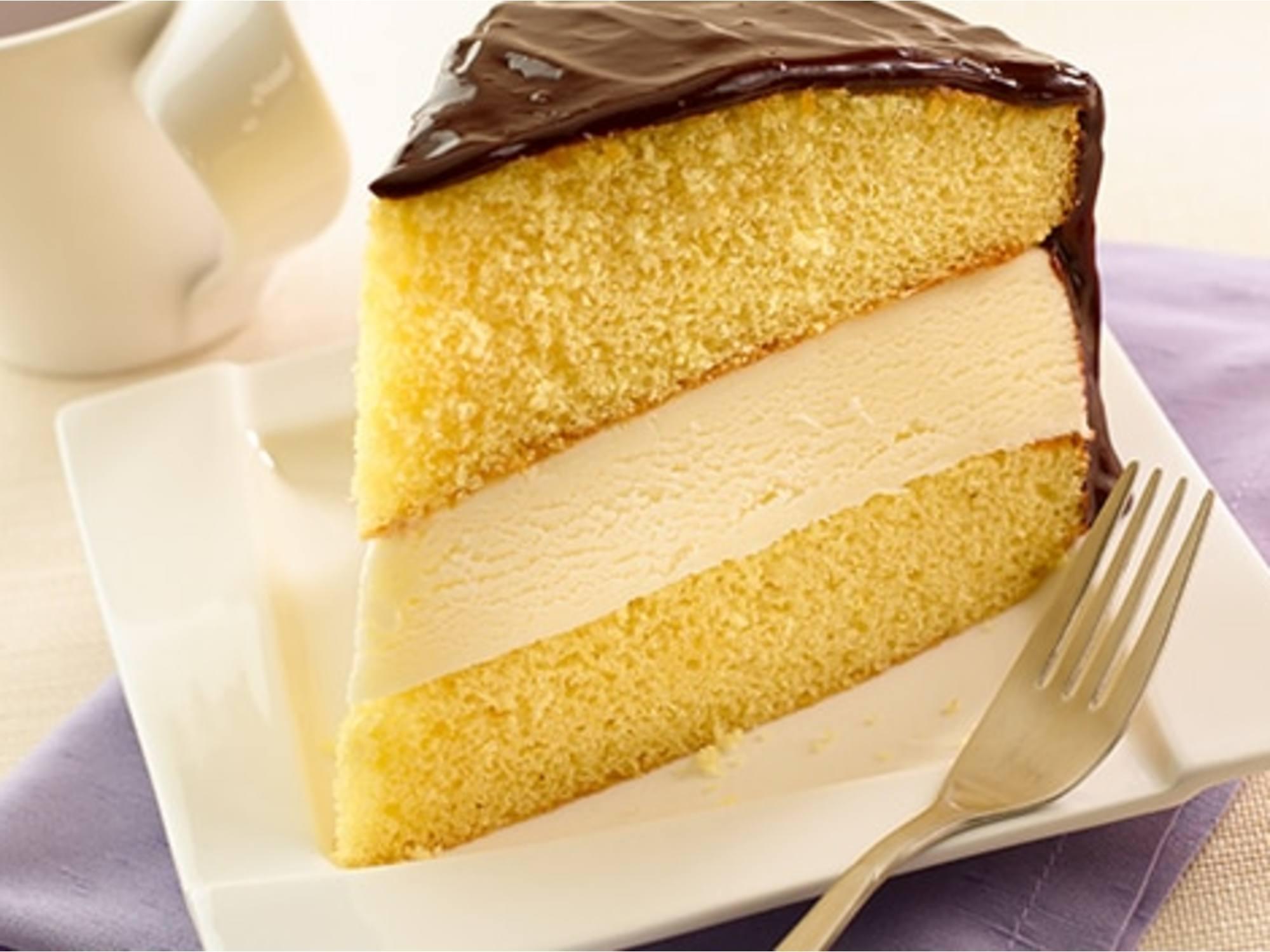 Gâteau de Boston à la Crème Glacée