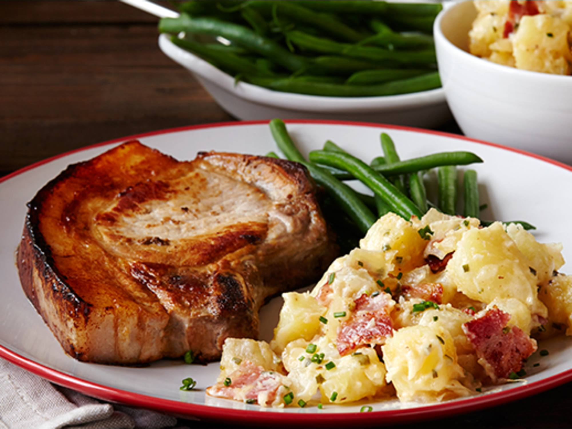 Salata germana de cartofi