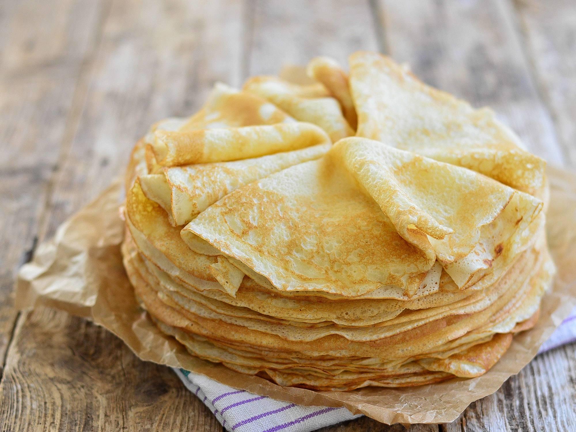 Pâte à Crêpes sans oeuf