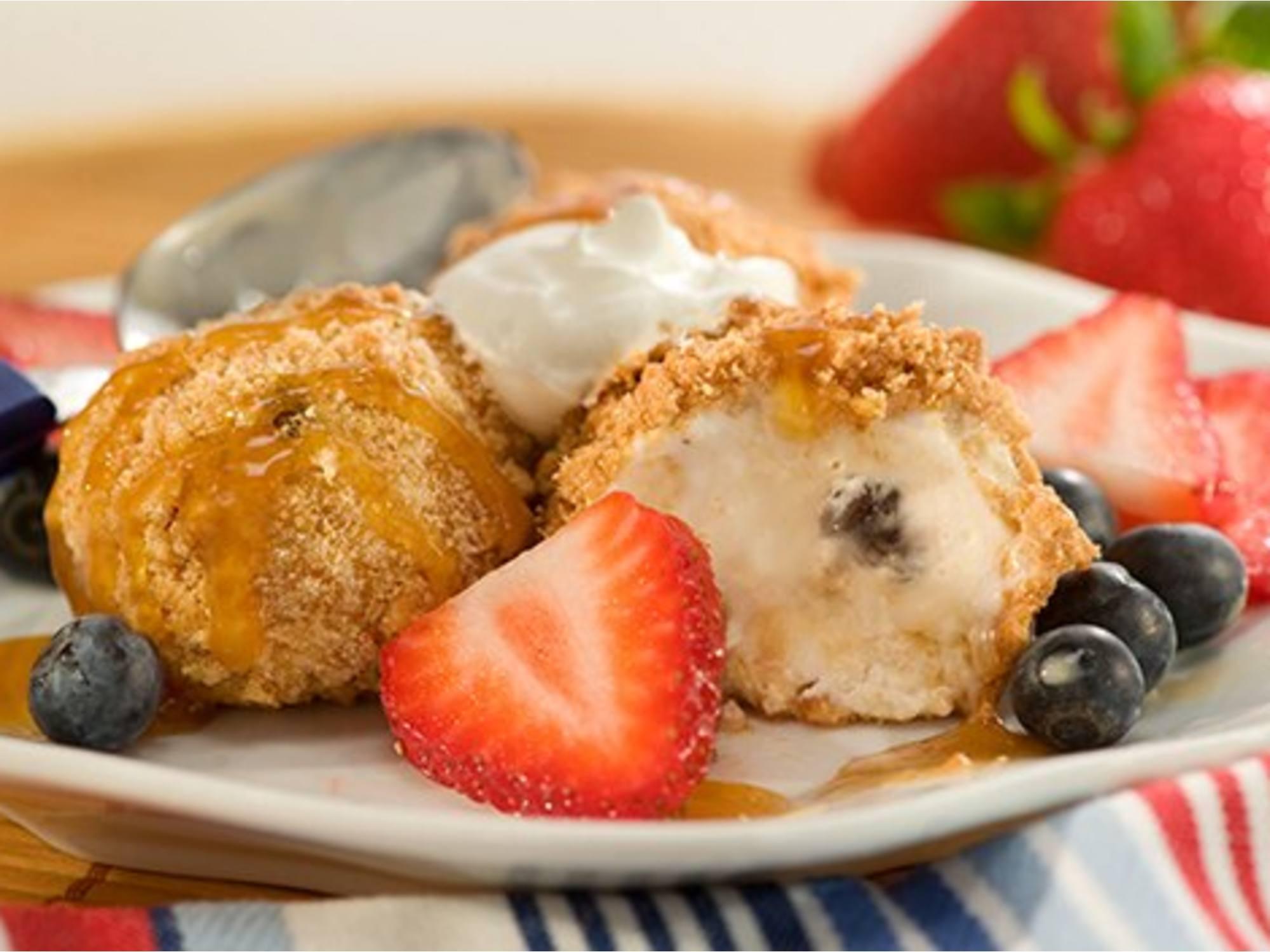 Crème Glacée Non Frite