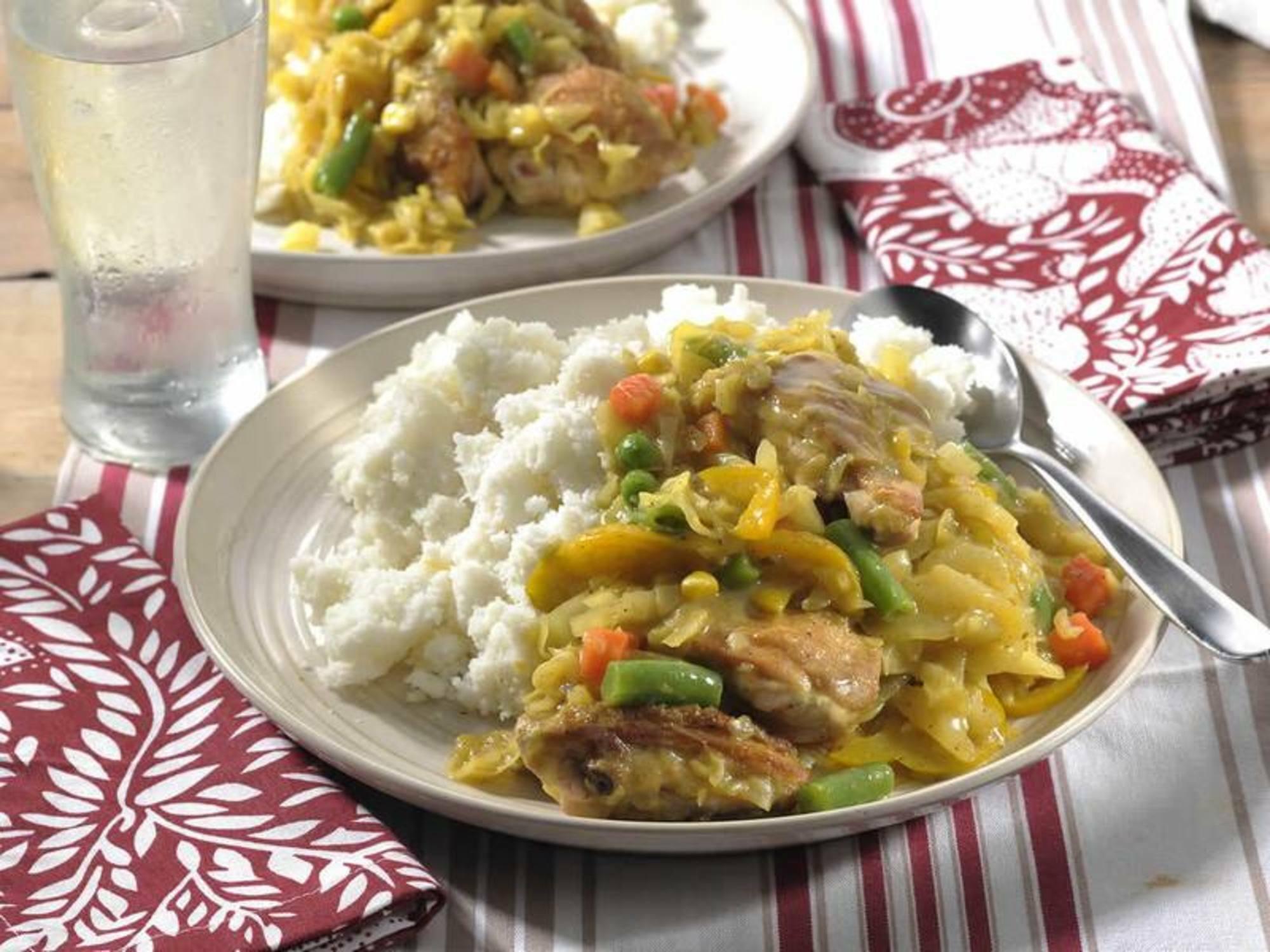 Chicken & Cabbage Stew