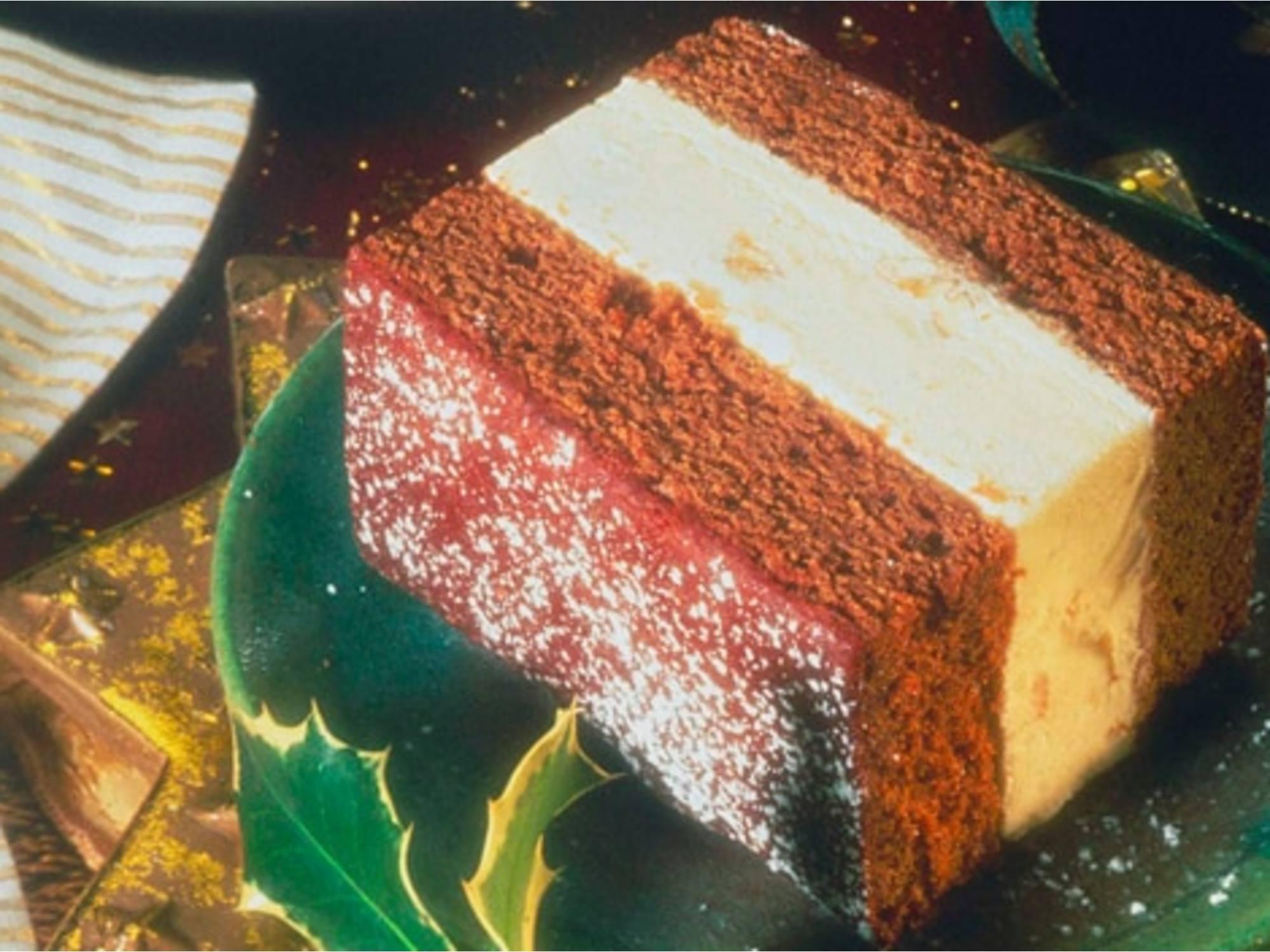 Gingerbread Ice Cream Cake