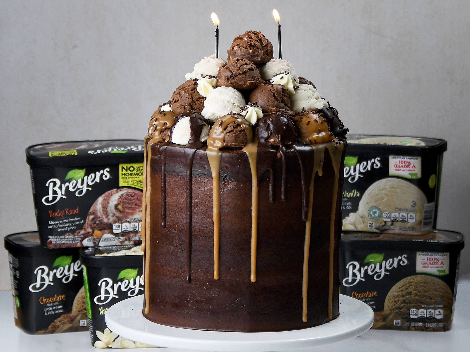 Ultimate Ice Cream Sundae Cake Recipe