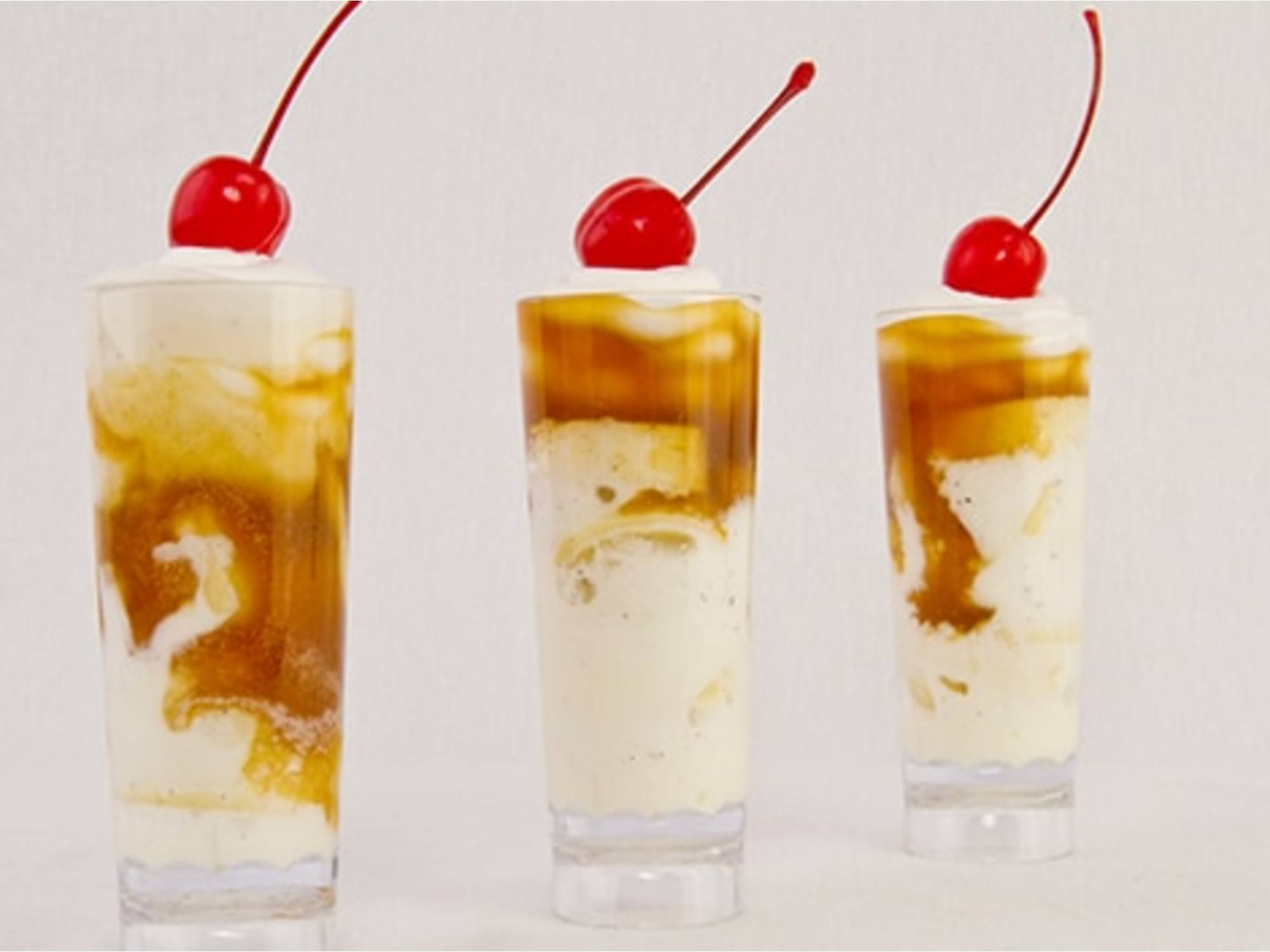 Banana Split Shots