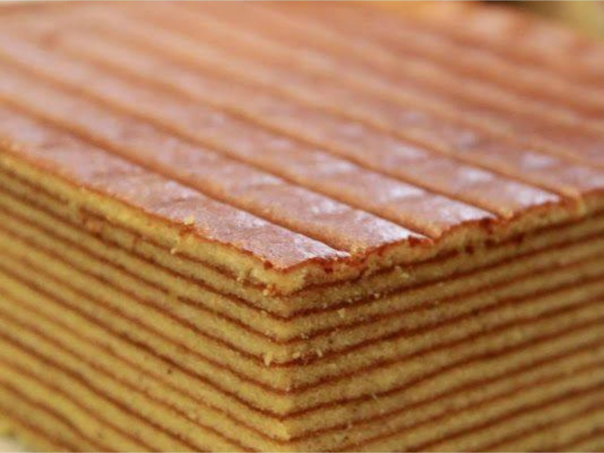 Horlicks Kek Lapis (1000 Layer Cake)