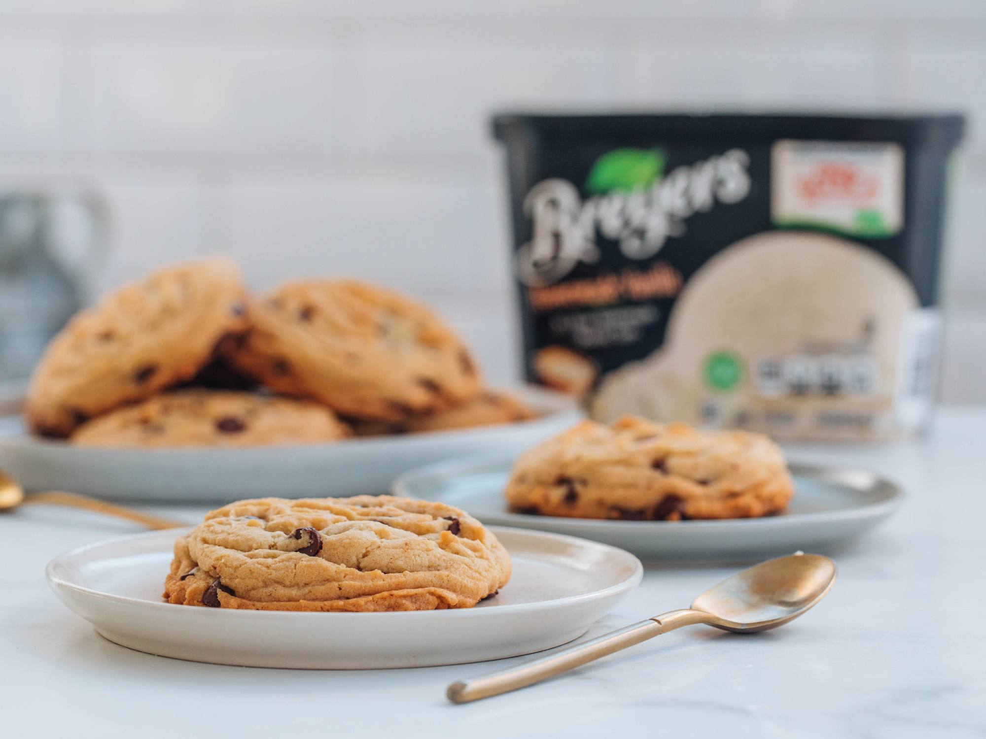 Chocolate Chip Ice Cream Cookies Recipe