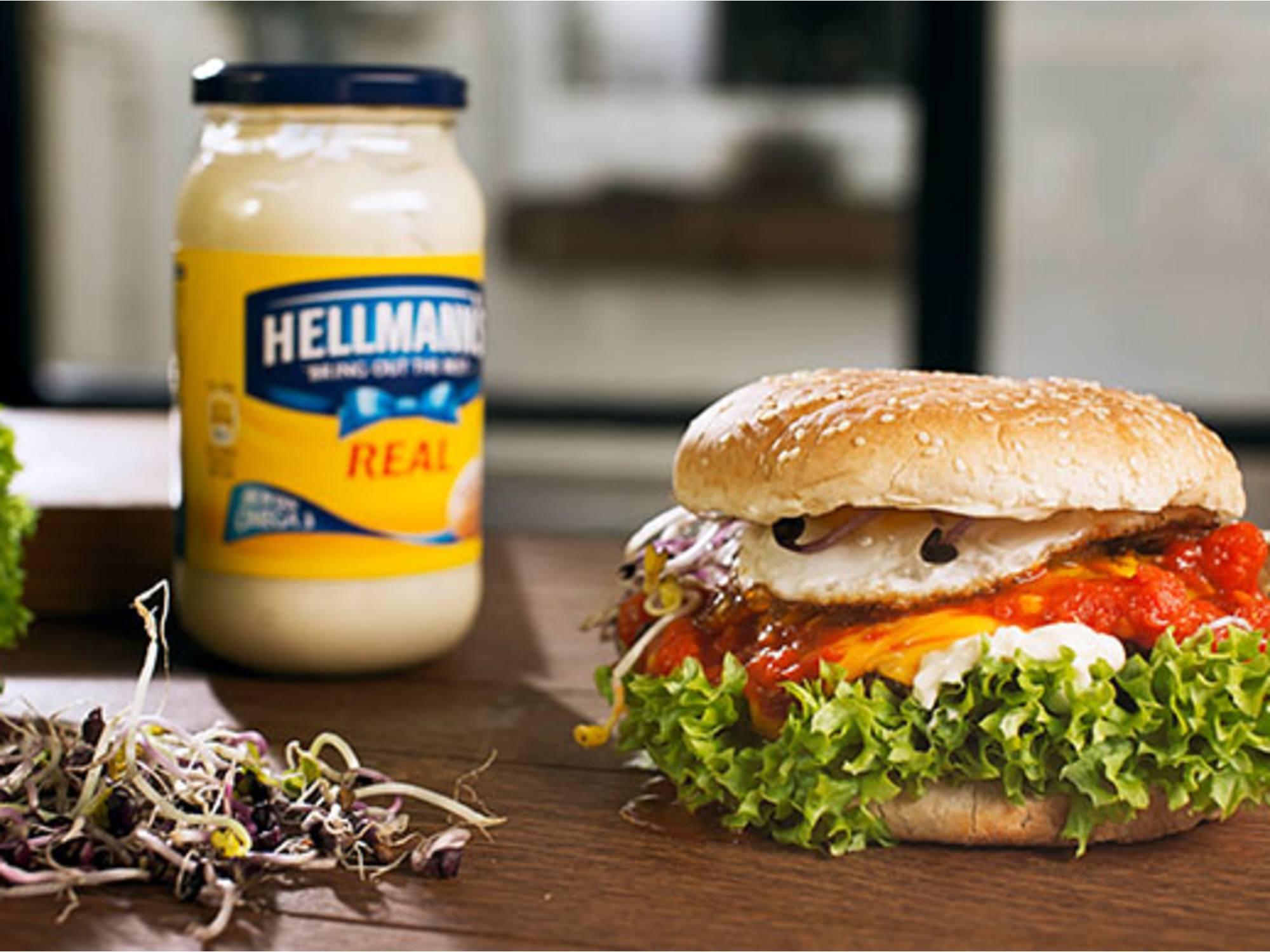 Mr ''Sunny Side Up'' Burgeren | Hellmann's DK