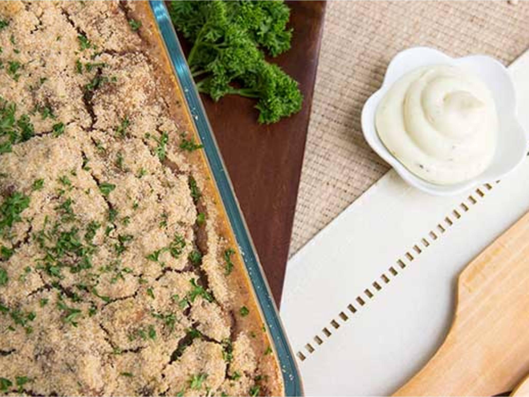 Torta de Fríjoles con Mayo Mostaza Fruco