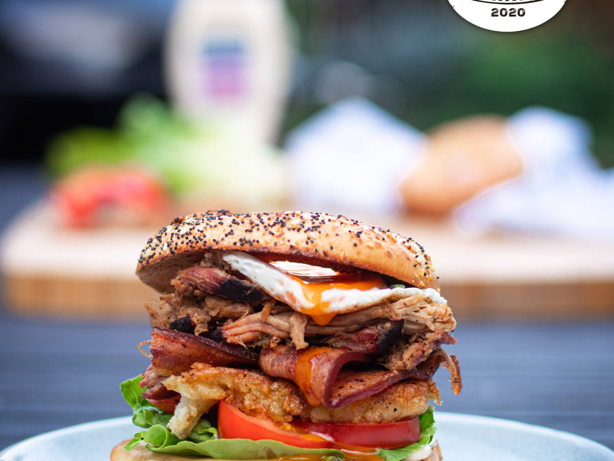 Loaded BBQ BLT with Pulled Pork and Best Foods Aioli | Hellmann's NZ