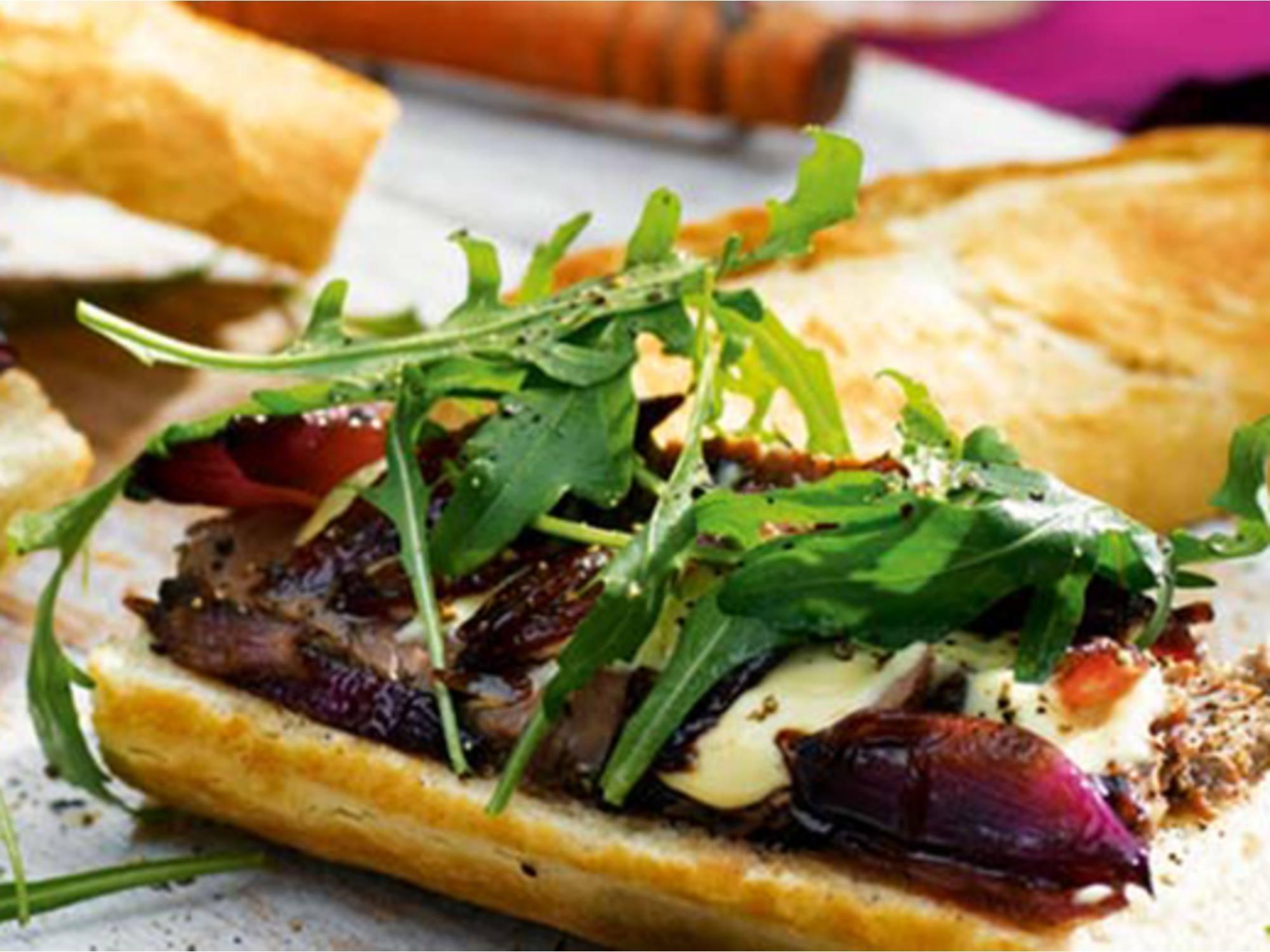Steak Baguette | Hellmann's DK