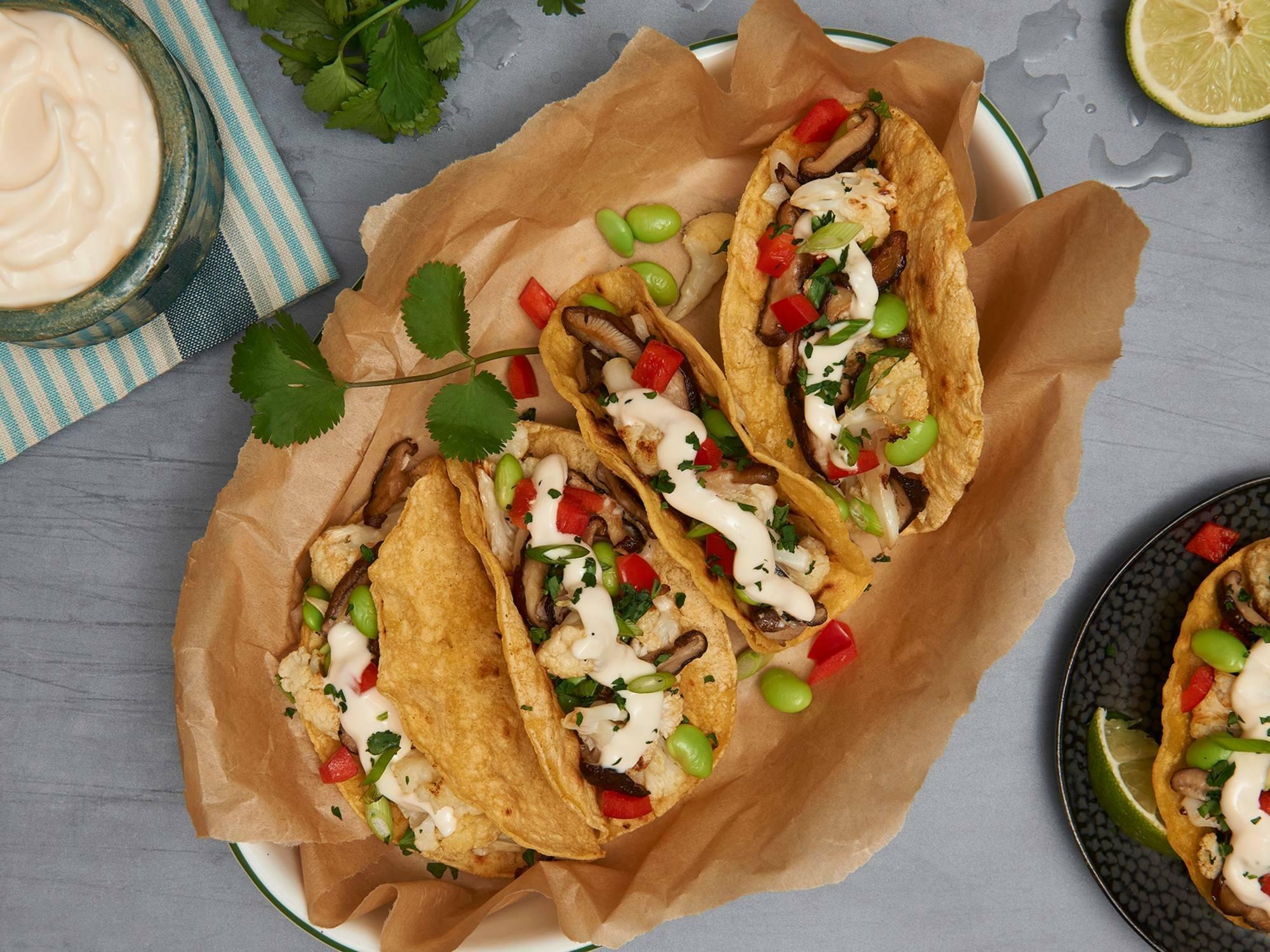 Asian Fusion Tacos