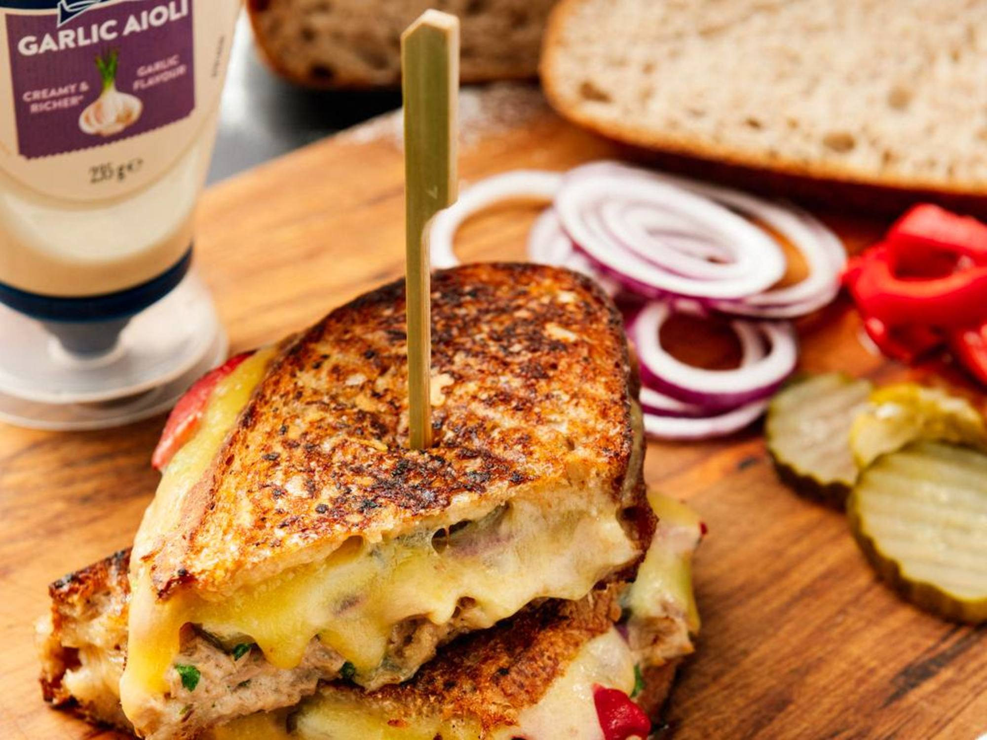 Tuna Melt | Hellmann's NZ