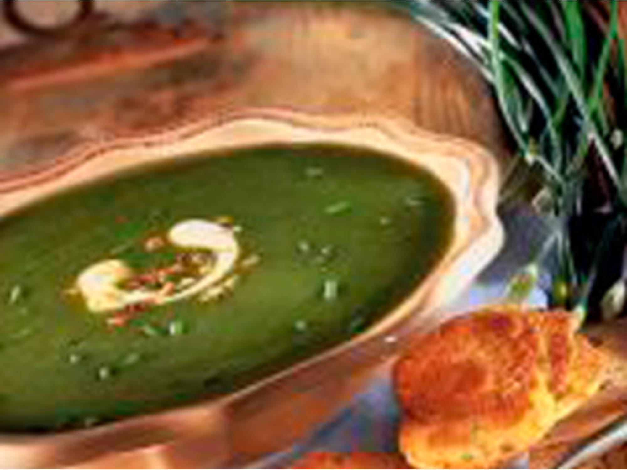 Soupe de haricots verts