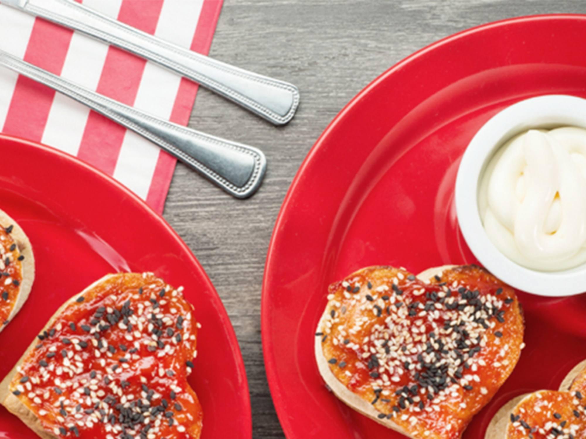 Sandwiches de Atún con Salsa de Tomate Fruco