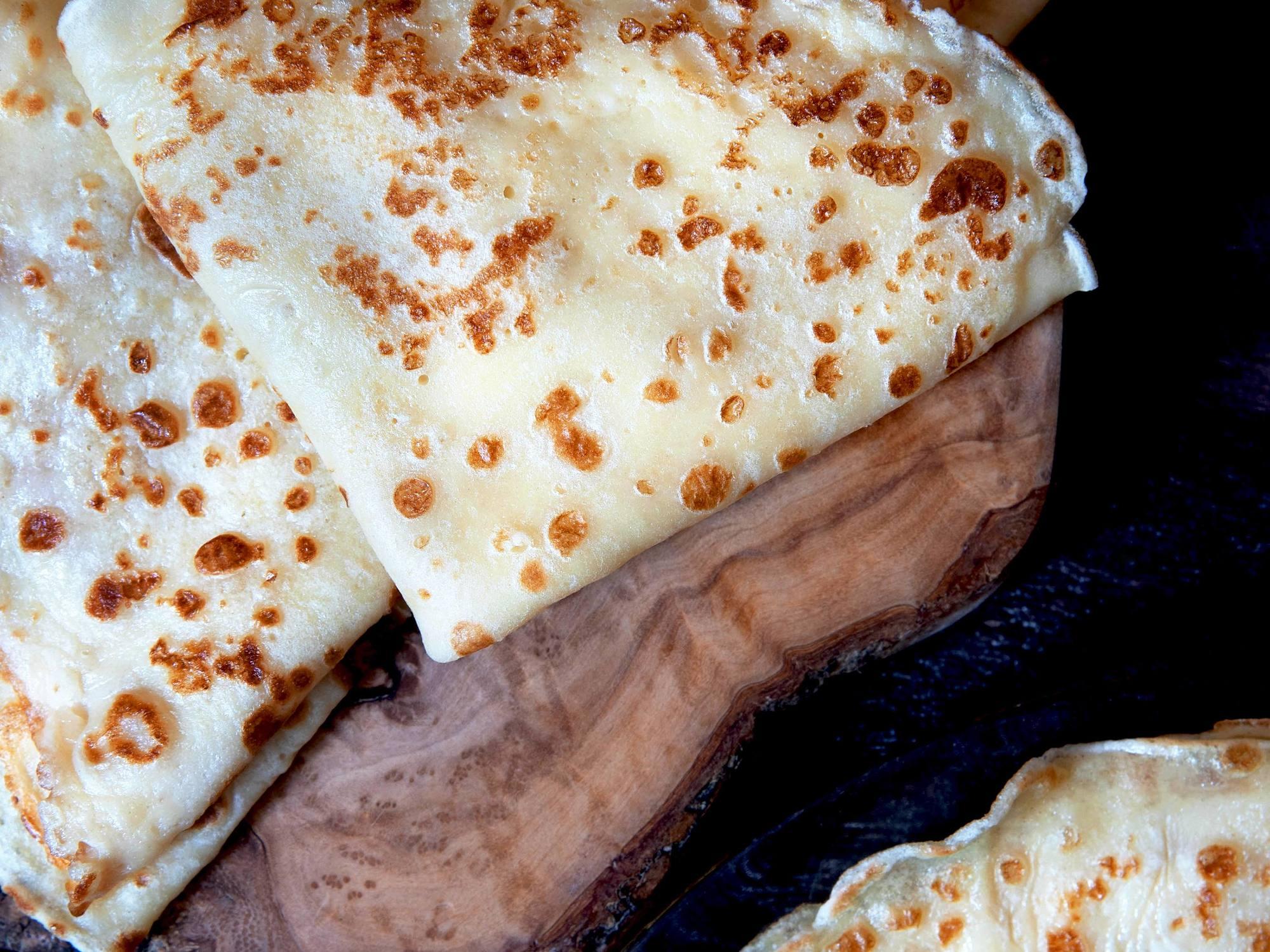 Pâte à Crêpes sans lait