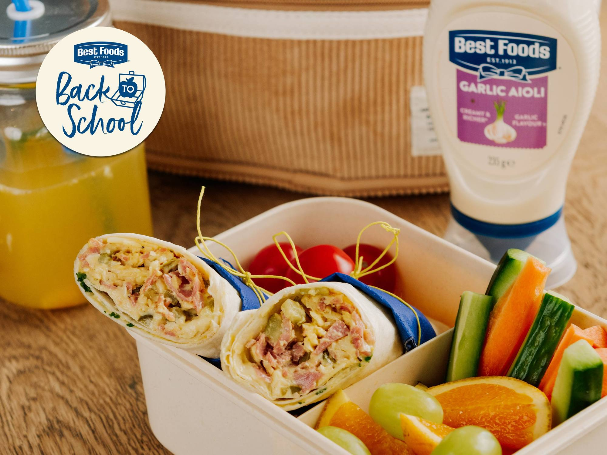 Corned Beef, Smoked Cheese & Pickles Best Foods Garlic Aioli Wrap | Hellmann's NZ