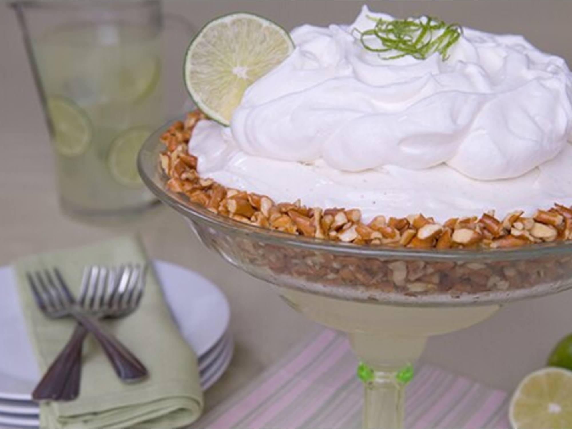Pastel helado margarita